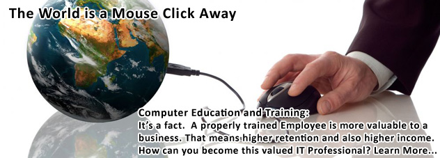 Personal Computer Training and Individual Computer Classes